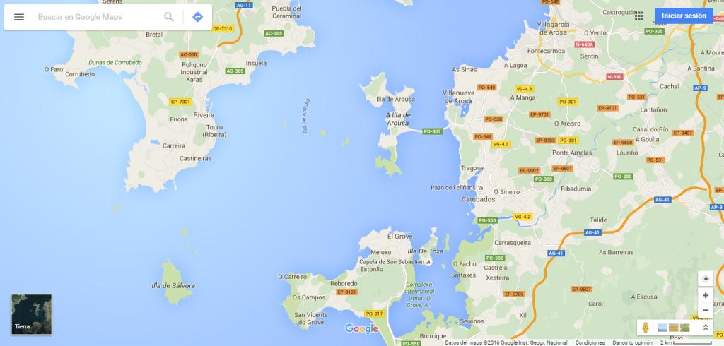 mapa-vilanova de arousa